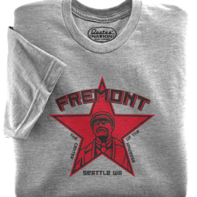 Fremont Seattle Lenin Athletic Heather T-Shirt