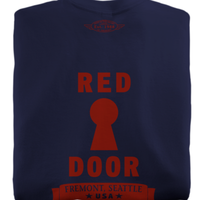 Red Door Navy T-Shirt