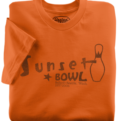 Sunset Bowl Orange T-Shirt