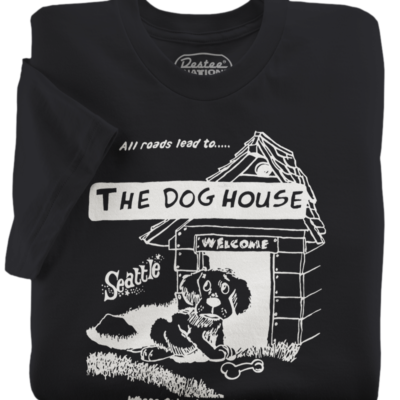 The Dog House Black T-Shirt