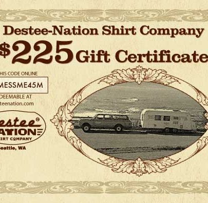$225 Gift Certificate