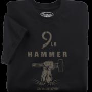 9 LB Hammer Black T-Shirt