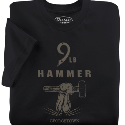 9 LB Hammer Black T-Shirt