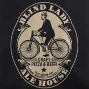 Blind Lady Ale House Black T-Shirt
