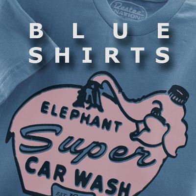 Blue T-Shirts