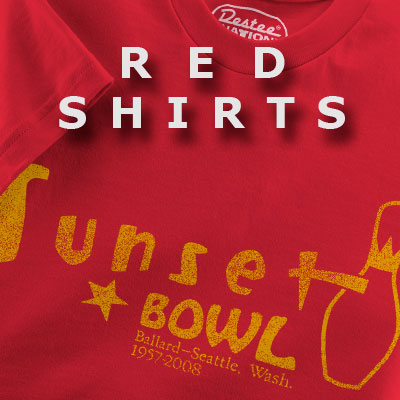 red-t-shirts