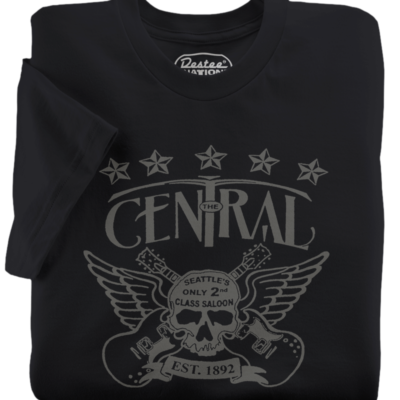 Central Saloon Black T-Shirt