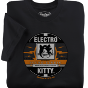 ElectroKitty Recording Black T-Shirt