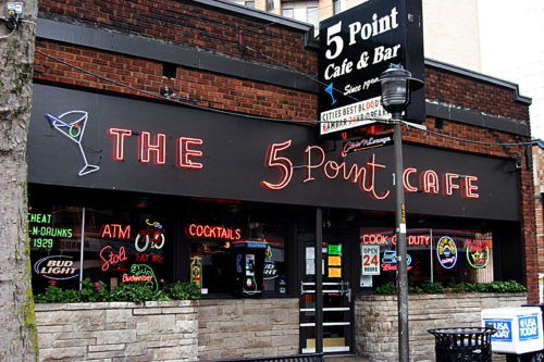 5 Point Café T-Shirt