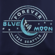 The Blue Moon Tavern Navy T-Shirt