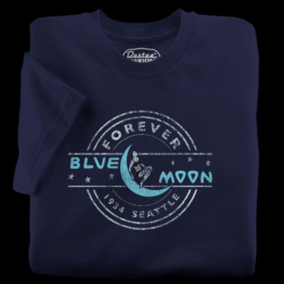 The Blue Moon Tavern Navy T-Shirt