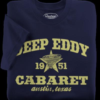 Deep Eddy Cabaret Navy T-Shirt