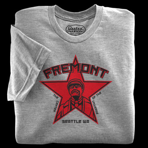 Fremont Lenin Athletic Heather T-Shirt