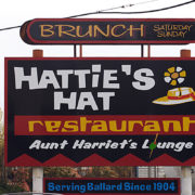 Hattie's Hat Black T-Shirt