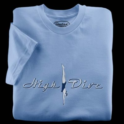 High Dive Ocean Blue T-Shirt