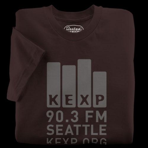 KEXP Brown T-Shirt