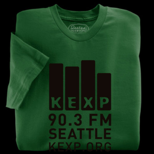 KEXP Green T-Shirt