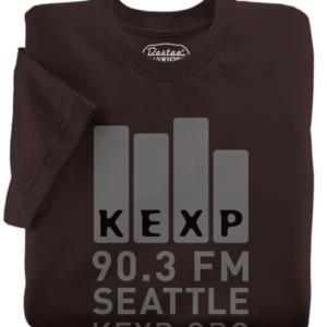KEXP Brown T-Shirt