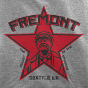 Fremont Seattle Lenin Athletic Heather T-Shirt