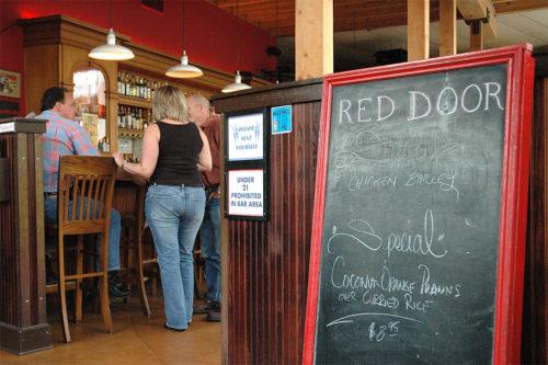 Red Door Navy T-Shirt