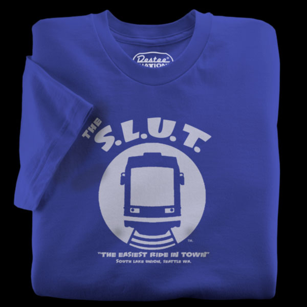 Seattle Streetcar Royal T-shirt