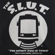 Seattle Streetcar Black T-shirt