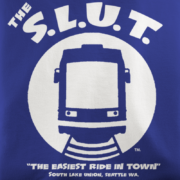 Seattle Streetcar Royal T-shirt