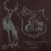 Snorting Elk Cellar Brown T-Shirt