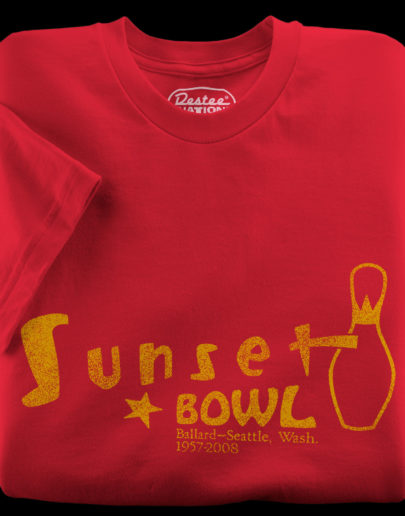 Sunset Bowl Red T-Shirt