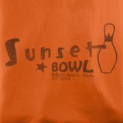 Sunset Bowl Orange T-Shirt