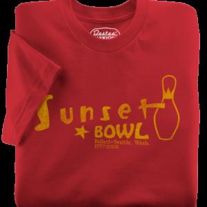 Sunset Bowl Red T-Shirt
