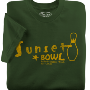 Sunset Bowl Olive T-Shirt