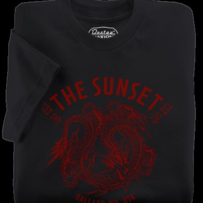 Sunset Tavern Black T-Shirt