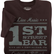 1st Street Bar Brown T-Shirt