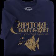 Capitola Boat & Bait Navy T-Shirt