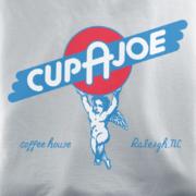 Cup a Joe Silver T-shirt