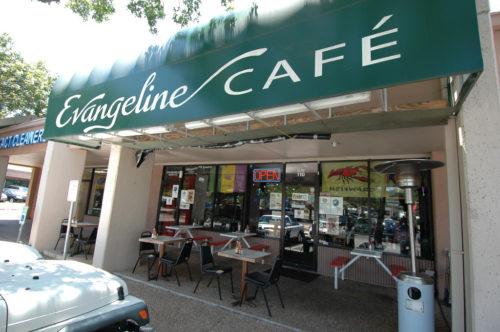 Evangeline Café Black T-Shirt