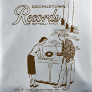 Georgetown Records Silver T-Shirt