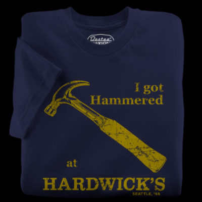 Hardwicks Hardware Navy T-Shirt