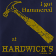Hardwick's Navy T-Shirt