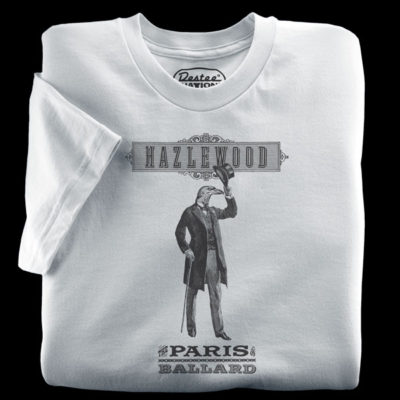 Hazlewood silver t-shirt form Seattle, Washington