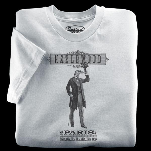 Hazlewood silver t-shirt form Seattle, Washington
