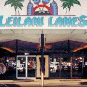 Leilani Lanes Steel Blue T-Shirt