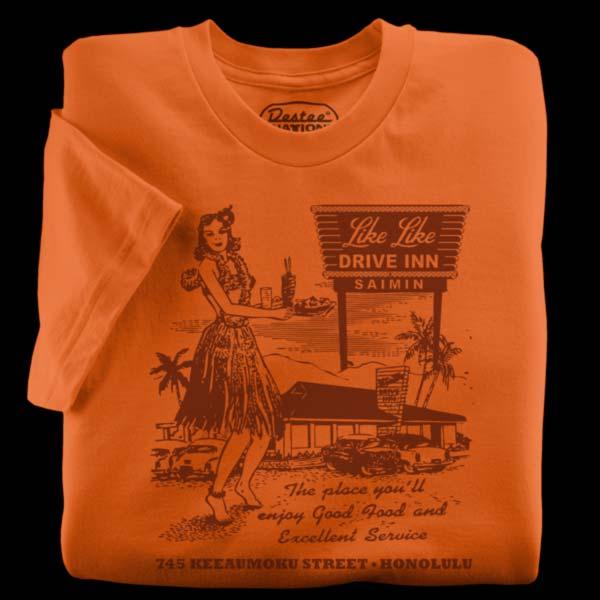 Like Like Drive Inn Restaurant T-Shirt from Hawaii