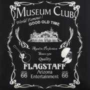 Museum Club Black T-Shirt