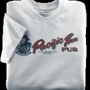 Pacific Inn Pub Silver T-Shirt