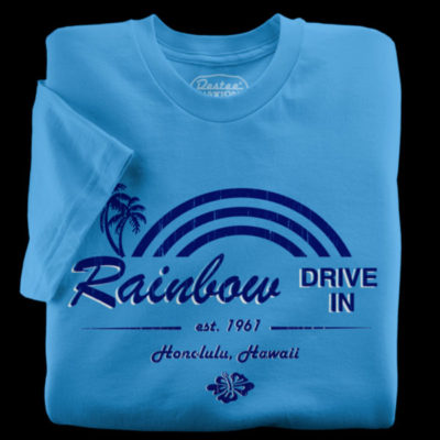 Rainbow Drive-In T-Shirt