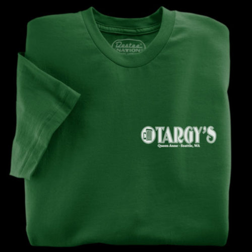 Targy's Tavern Green T-Shirt
