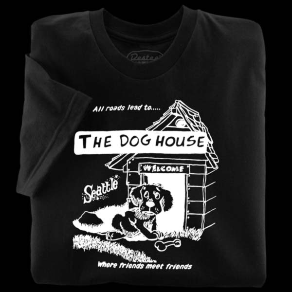 The Dog House black T-Shirt from Seattle