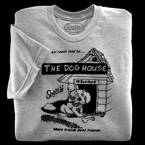 The Dog House Athletic Heather T-Shirt from Seattle